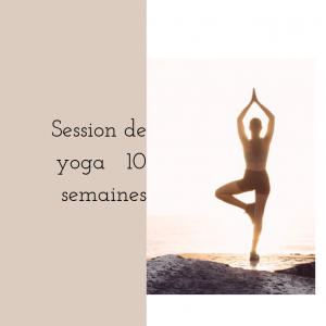Session de yoga 10 semaines